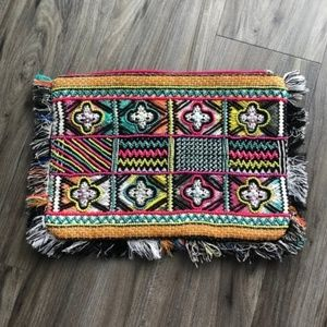 NWOT Steve Madden Two Sided Beaded Clutch